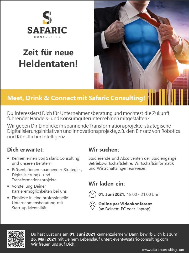Meet, Drink & Connect Juni 2021