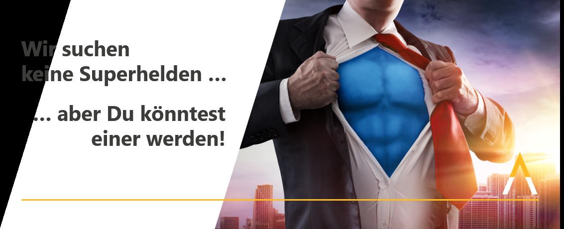Recruiting Event Mai 2020 - Wir suchen keine Superhelden ... aber du könntest einer werden!